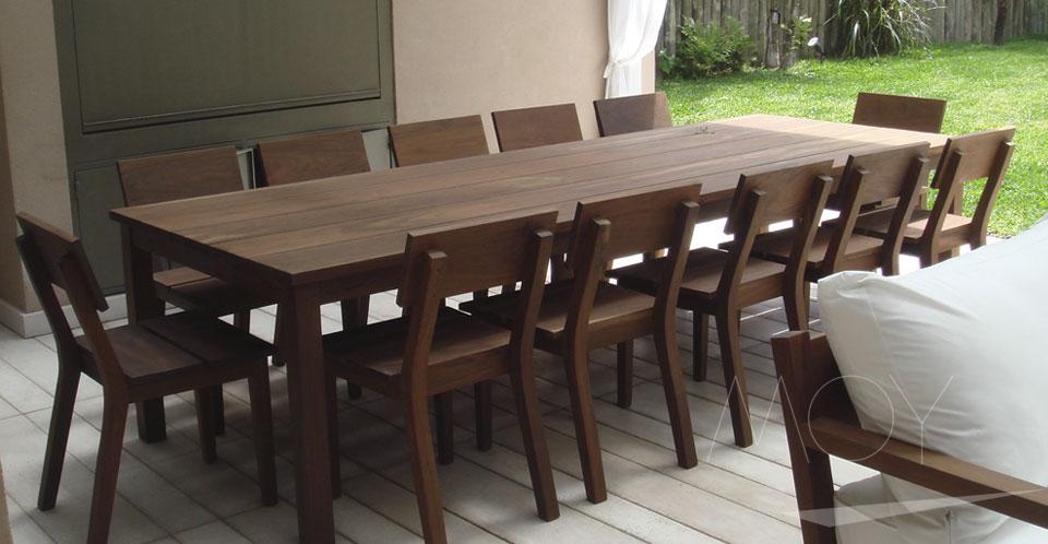 Fernando moy muebles objetos for Mesas y sillas exterior baratas